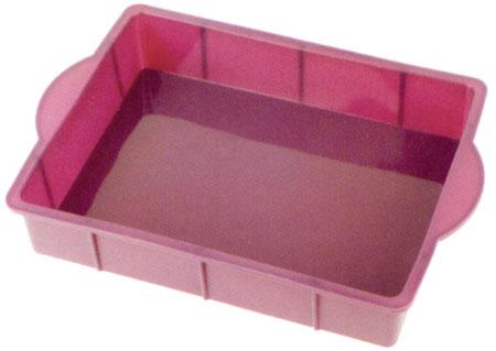 Silicone square cake pan SP1008