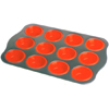 Silicone 12 cup muffine mould SP1602