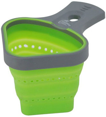 Collapsible Silicone Pasta Basket/Strainer (SP-SC011)